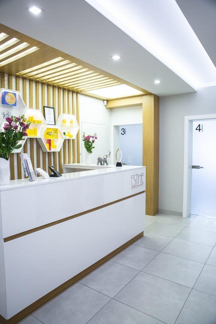 Galeria - Wnętrze ESTHE Instytut Nowoczesnej Kosmetyki w Lublinie - recepcja 5