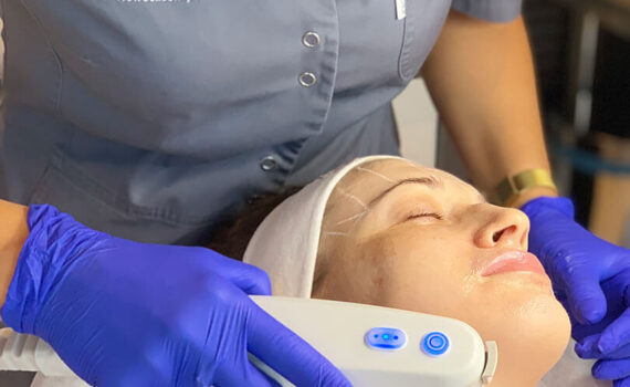 Kosmetyka twarzy - HIFU ultradźwiękowy lifting twarzy 1 - gabinet kosmetyczny Esthe w Lublinie
