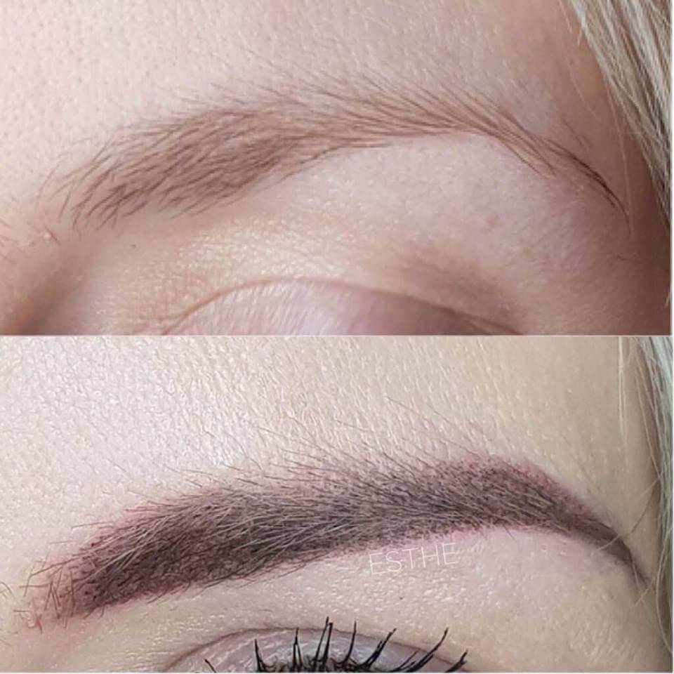 Makijaż permanentny brwi 2 - gabinet kosmetyczny Esthe w Lublinie