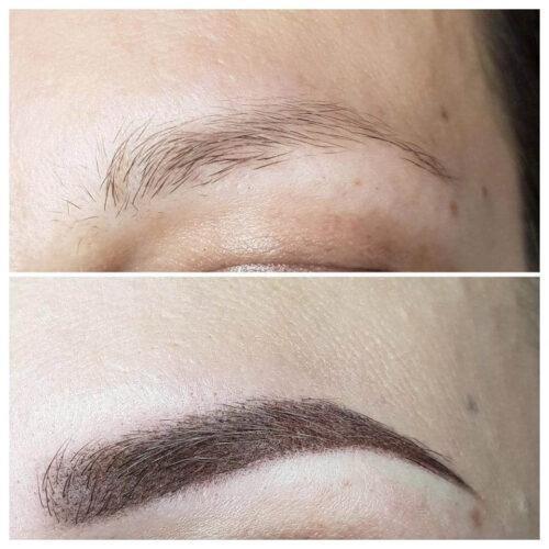Makijaż permanentny brwi 3 - gabinet kosmetyczny Esthe wLublinie