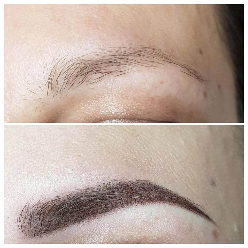 Makijaż permanentny brwi 3 - gabinet kosmetyczny Esthe w Lublinie