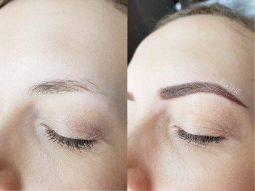 Makijaż permanentny brwi 5 - gabinet kosmetyczny Esthe wLublinie