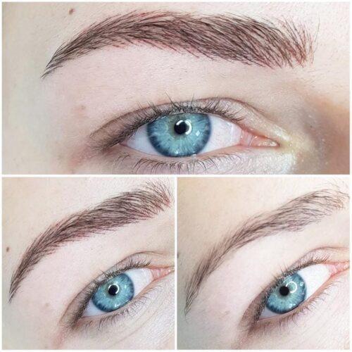 Makijaż permanentny brwi 7 - gabinet kosmetyczny Esthe wLublinie