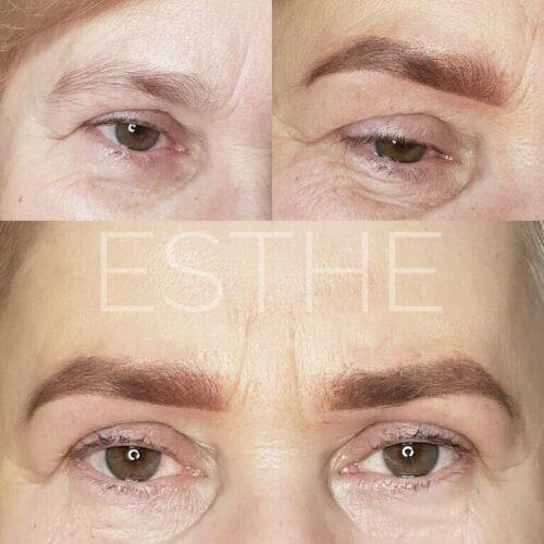 Makijaż permanentny brwi 9 - gabinet kosmetyczny Esthe wLublinie