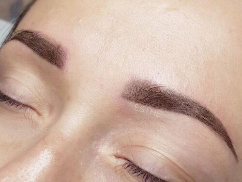 Makijaż permanentny brwi - gabinet kosmetyczny Esthe wLublinie