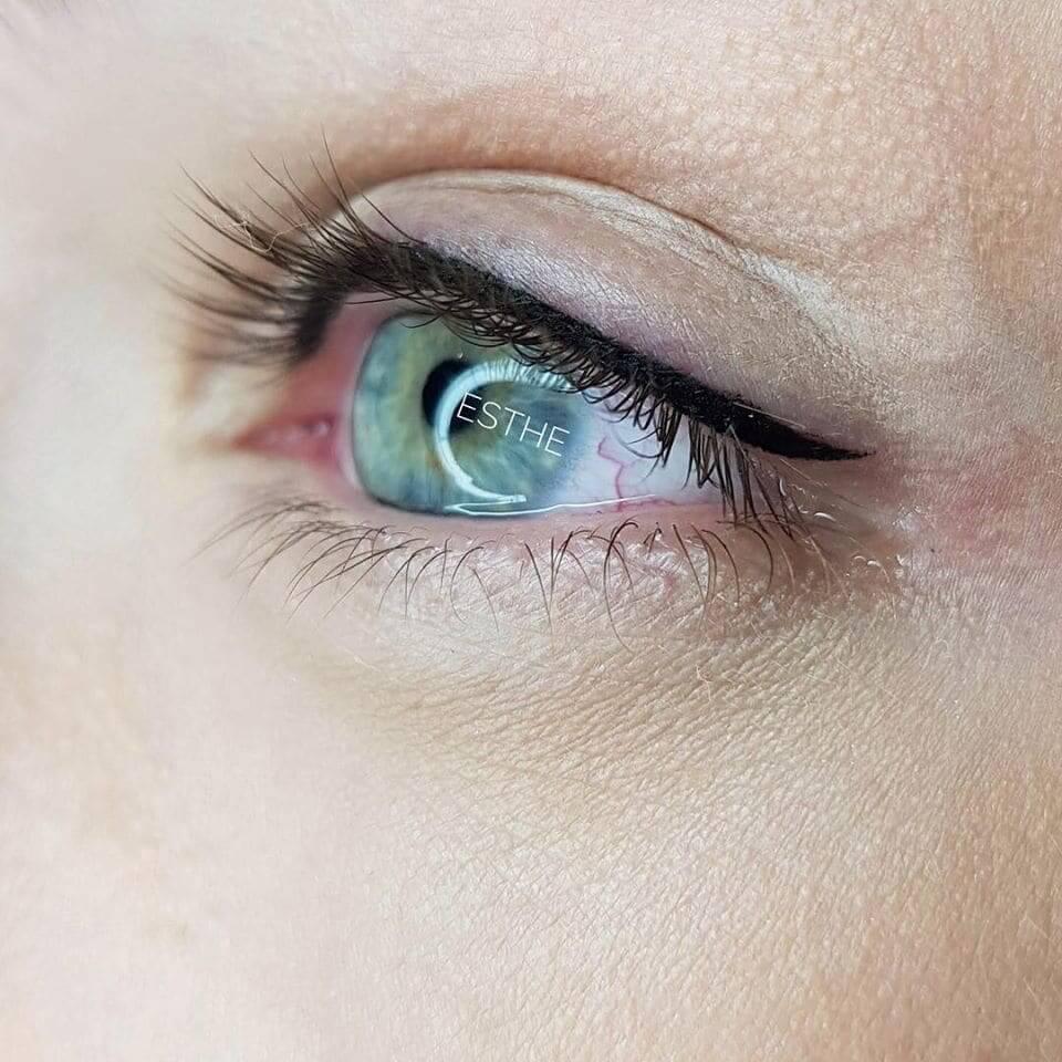 Makijaż permanentny oczu 3 - gabinet kosmetyczny Esthe w Lublinie