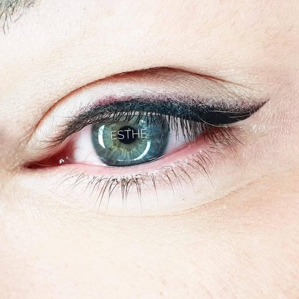 Makijaż permanentny oczu - gabinet kosmetyczny Esthe w Lublinie
