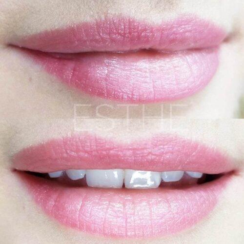 Makijaż permanentny ust 6 - gabinet kosmetyczny Esthe wLublinie