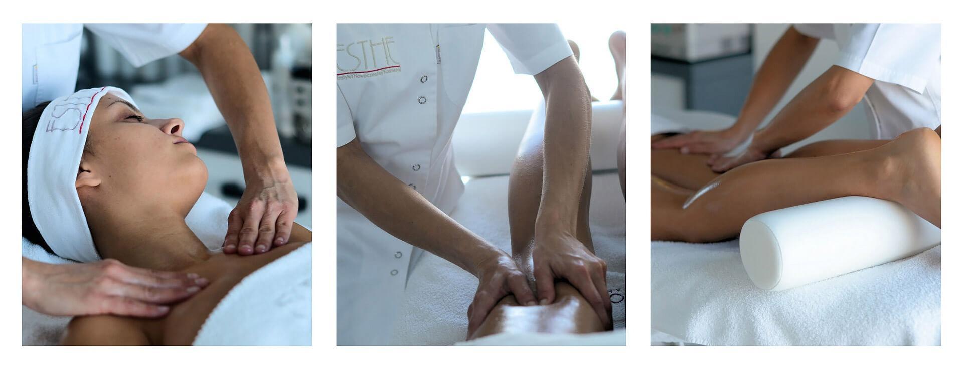 Modelowanie ciała - masaże - drenaż limfatyczny - gabinet kosmetyczny Esthe w Lublinie